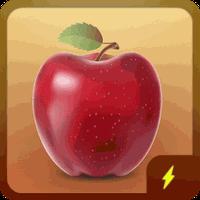 bateria de maçã